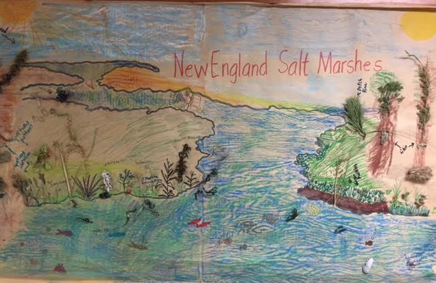 Plymouth river school art what 39 s happening in the art room for Abri mural cape cod